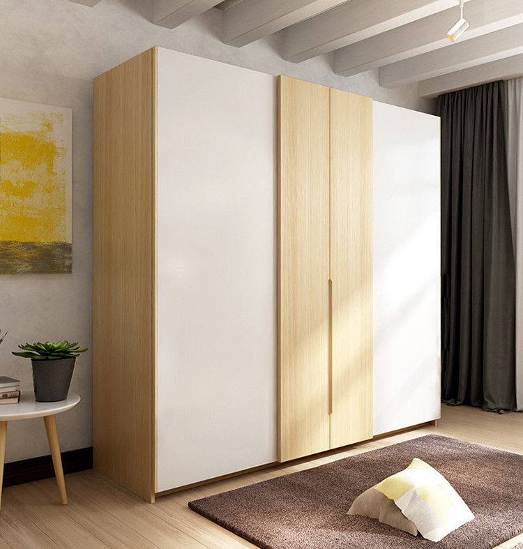 European Style Wall Particle Board Wardrobe For Wedding Bedroom Interior Decoration